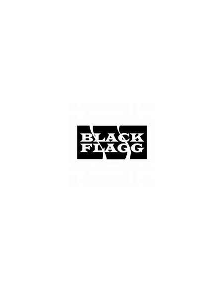 "BLACK FLAGG BIG BUTT small 3.95"" COL. BLACK TEQUILA PZ.8"