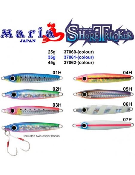 MARIA JAPAN JIG SHORE TRIKER COL. 03H
