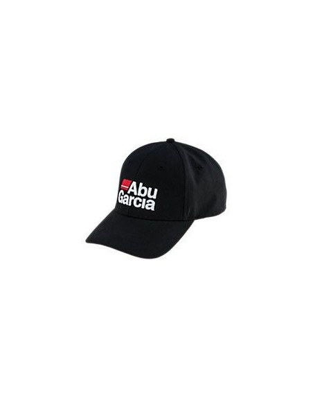 ABU GARCIA CAP BLACK con visiera