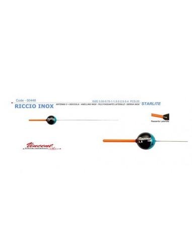VINCENT GALLEGGIANTE FISSO RICCIO INOX NEW STARLIGHT 3.0