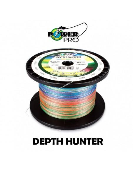 POWER PRO DEEP HUNTER MT.1600 multicolor mm.0.36 kg.30 LB.66