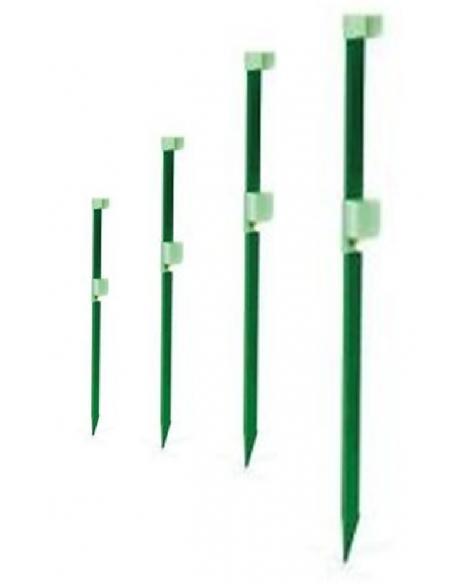 PICCHETTO reggicanna fluorescente regolabile alluminio cm.100