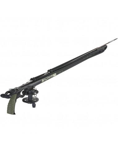 SALVIMAR fucile arbalete METAL con mulinello