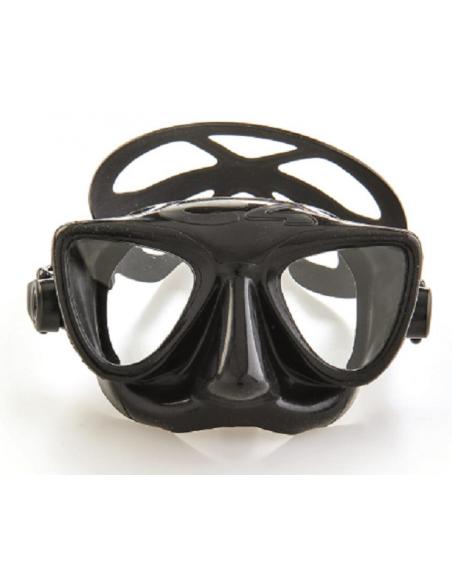 C4 maschera apnea nera PLASMA