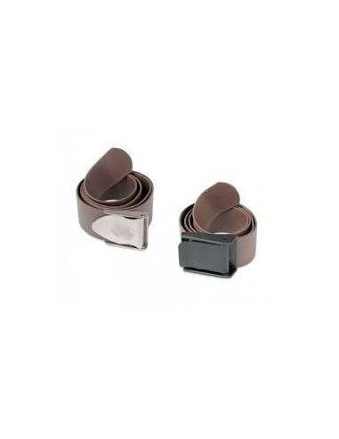 C4 cintura silicone fibbia nylon marrone