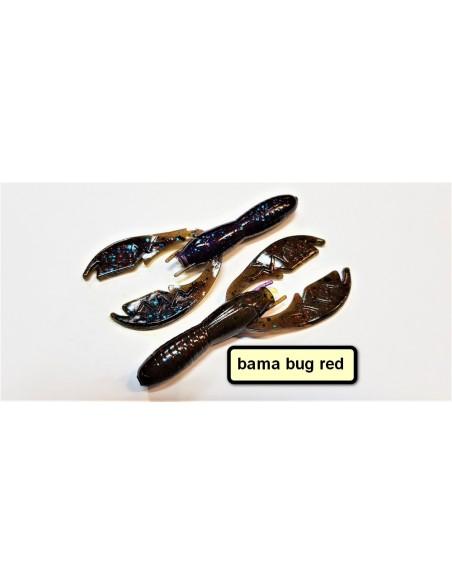 net bait esche black bass baby paca  craw 3.75