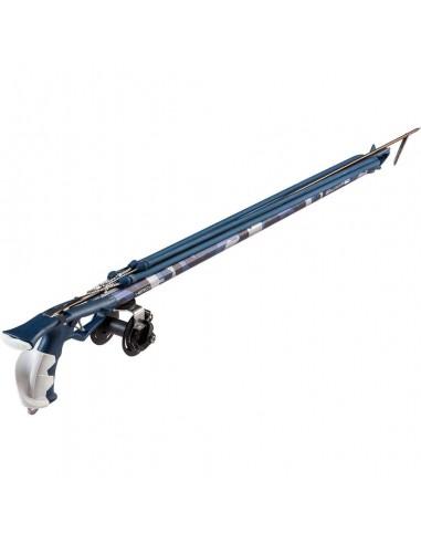 salvimar fucile ad elastico mimetico HERO storm blue con mulinello limited edition