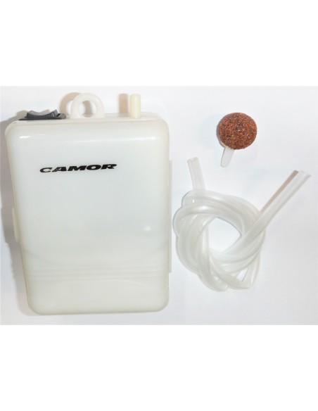 camor  ossigenatore due velocità alimentazione batteria