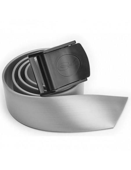 C4 cintura silicone fibbia nylon silver