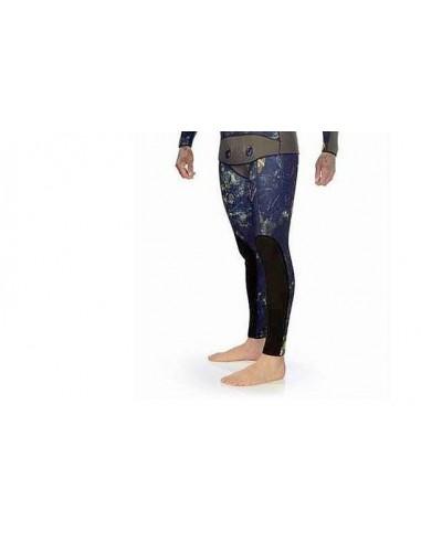 C4 solo pantalone di muta sub mimetica extreme camu mm.6.5