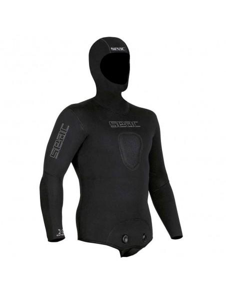 seac sub giacca di muta race flex confort mm.5 spaccato interno