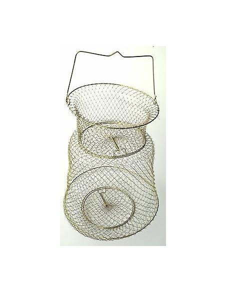 olympus cestello porta pesci metallo con collo diam.30 maglia 8