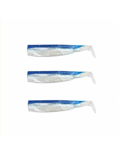 fiish black minnow n.4 coda ricambio cm.14 pz.3 colore bleu cod.bm031