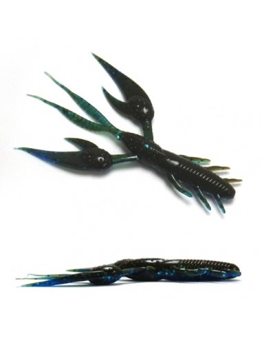 geecrach esca da black bass beat craw 4 inch. colore 221
