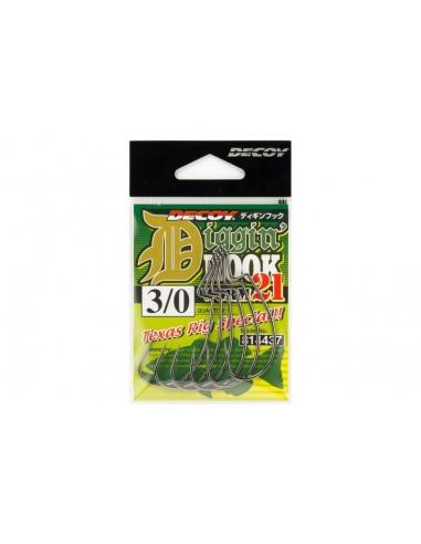 Decoy  Amo Worm 21 Diggin Hook Texas Rig Special