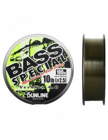 Sunline monofilo Bass Special mt.100 version 4.0