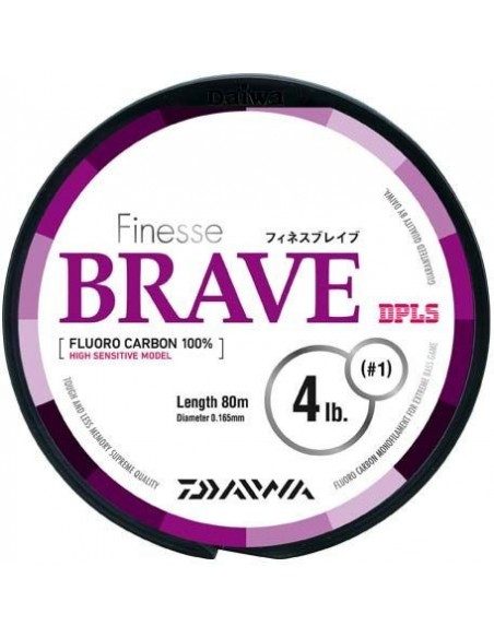 Daiwa  fluorocarbon Brave mt. 80 per finali
