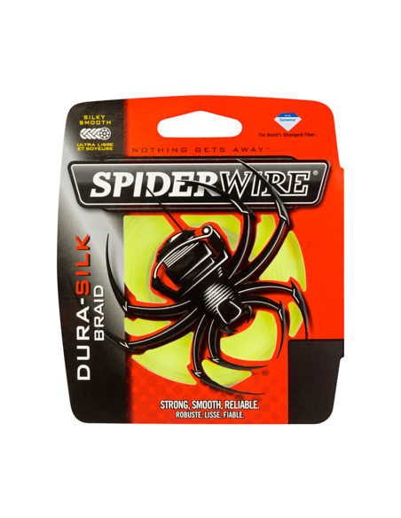 SPIDERWIRE DURA-SILC BRAID MT. 137 GIALLO137