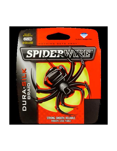 SPIDERWIRE DURA-SILC BRAID MT. 137 GIALLO137