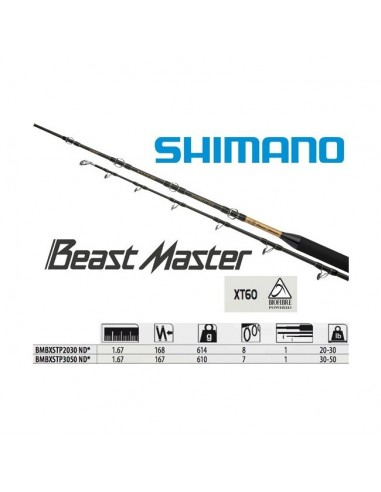 SHIMANO BEASTMASTER BX STAND UP 30/50LB.