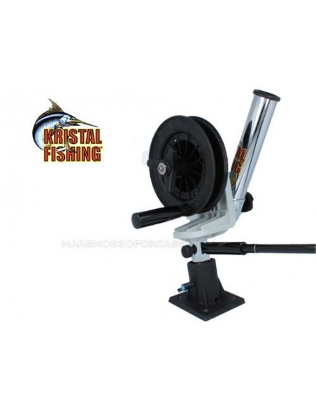 AFFONDATORE TRAINA KRISTAL FISHING XL12 CON PORTACANNA