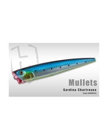 HERAKLES POPPER MULLETS CM. 14 GR. 42 COL. SARDINA